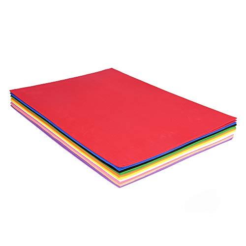 ewtshop® Moosgummi DIN A3, 20er Set, 29,7 x 42 cm, Moosgummiplatten