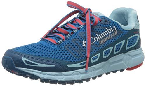 Columbia Bajada III, Zapatillas de Running para Asfalto Mujer, Azul (Deep Ocean,...