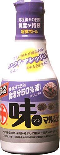 マルジュウ 味マルジュウ減塩新鮮ボトル 200ml×3個