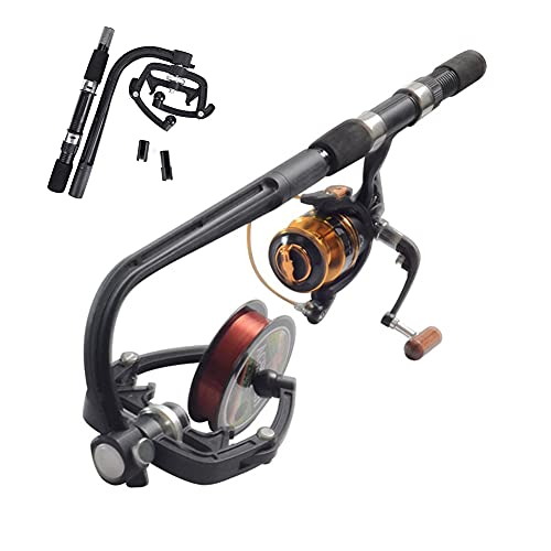 2021NEW - Fishing Line Spooler, Fishing Line Winder Spooler, Fishing Reel Spooler Machine, Line Spooler for Spinning Rreels and Baitcaster,Spinning Reel System,Fishing Accessories