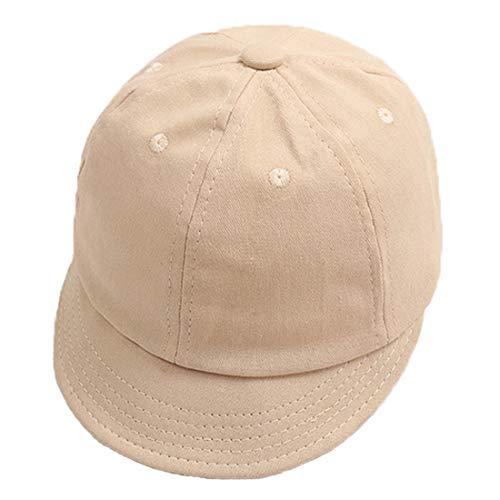 Yixda Baby Kids Schirmmütze Kappe Hüte Kleinkind Sonnenhut Baseball Cap (Beige)
