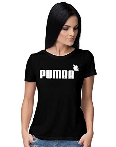 BLAK TEE Mujer Pumba Lion and The King Camiseta S
