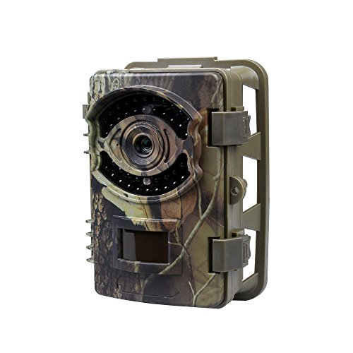 KVD Trail Cameras, 16MP 1080P Wildlife Scouting Game Camera 0.7 s Trigger Speed, 2.4' LCD Screen &...