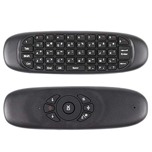 Senmubery Controlador Remoto inalambrico de Teclado Air Raton para PC Android Smart TV Box Tabla