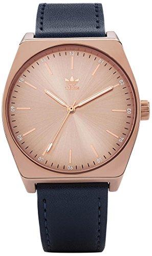 Adidas Damen Analog Quarz Uhr mit Leder Armband Z05-2908-00