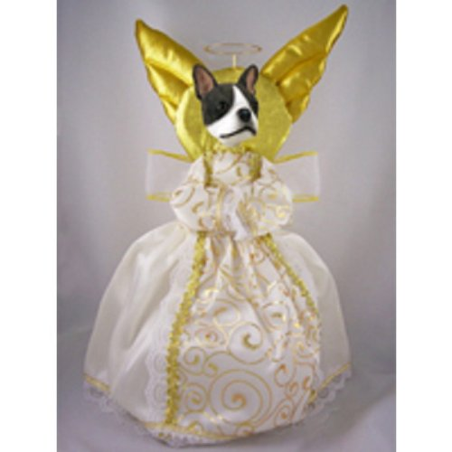 Conversation Concepts Boston Terrier Doogie Collection Angel Tree Topper