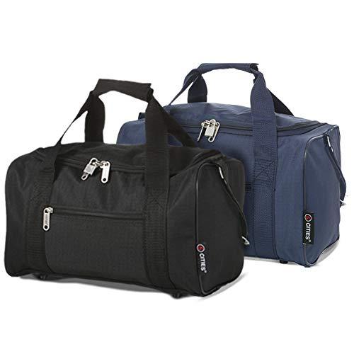 5 Cities 35x20x20 Ryanair Cabin Hand Luggage Holdall Flight Bag, Set of 2