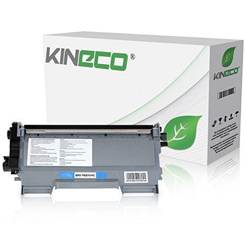 Kineco Toner kompatibel für Brother TN2010 TN-2010 für Brother DCP-7055 W, DCP-7057, HL-2130 R, HL-2132 R, HL-2135 W, Schwarz 3.000 Seiten