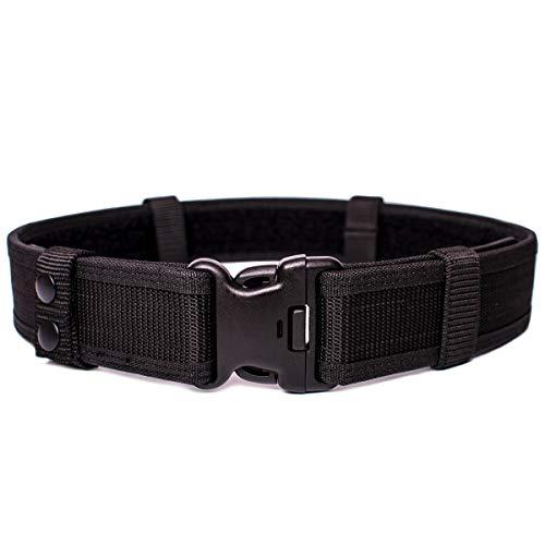 JIEDE Duty Belt   Nylon Belt for Concealed Carry   Adjustable Military Tactical Belt for Military Training   Police Equipment EDC Belt. (L 41  -45  )