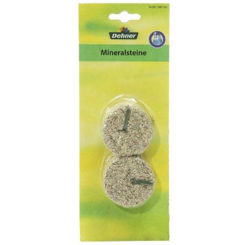 Dehner Mineralstein klein, 1 x 2 Stück, 1er Pack (1 x 160 g)