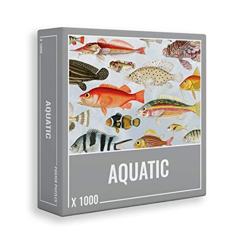 Cloudberries- Poster Puzzle Aquatic Puzle, Multicolor (3019)