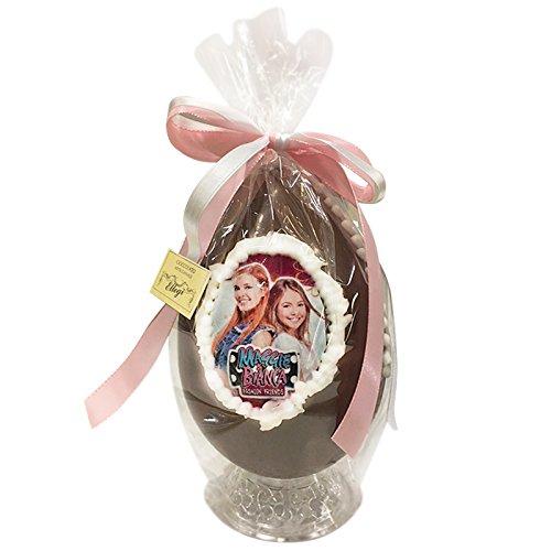 Uovo di Pasqua ARTIGIANALE MAGGIE E BIANCA con SORPRESA da 350 gr - Cioccolato al latte (350 gr)