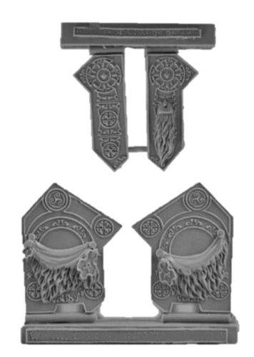 Scibor MM 28mm Miniature Conversion Parts Celtic Conversion Set 2
