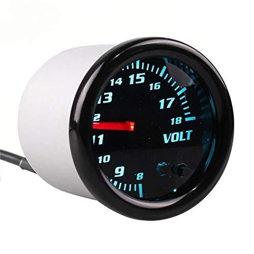 No-branded Odometer Spur 52mm Spur Tachometer RPM Meter-Boost/Wassertemperatur/Öltemperatur/Öldruck/Tachometer/Volt/Luft-Kraftstoff-Verhältnis/Vakuum Meter-Messgerät Auto ZHQHYQHHX