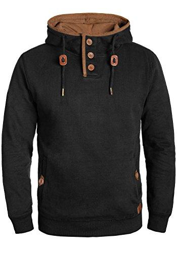 BLEND Alexo - Sudaderas con capucha para Hombre, tamaño:XL;color:Black (70155)
