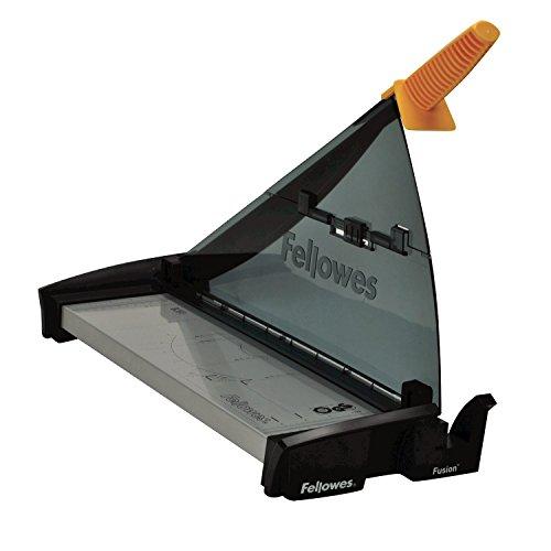 Fellowes Fusion A3 - Guillotina de papel tamaño A3, capacidad de corte 10 hojas, color negro y gris