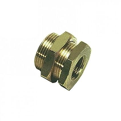 BSPP Bulkhead Coupling Female Parker 0117 00 10 Adaptor Brass G1//8