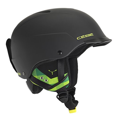 CONTEST VISOR MATTE BLACK & GREEN 55-58CM