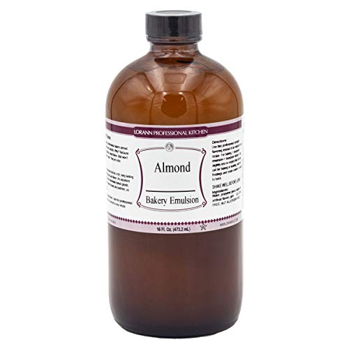 LorAnn Almond Bakery Emulsion, 16 ounce bottle