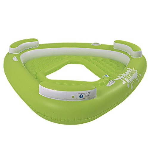 Jilong Honolulu Deluxe Pool Lounge III Badeinsel 3 Personen Poolsessel Wassersofa mit Rückenlehne