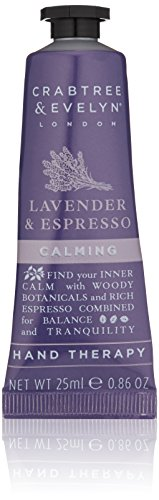 Crabtree & Evelyn Lavender & Espresso Calming Hand Therapy, 0.86 oz