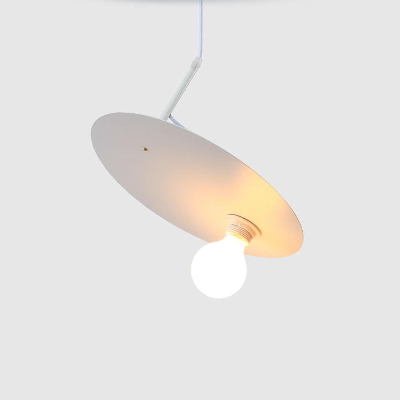 Pointhx Moderne Einfachheit Wei Eisen Deckenpendelleuchten Kreative Persnlichkeit Indoor LED E27 Hngende Lampe Kette Einstellbar Kronleuchter Für Esszimmer Küche Kinderzimmer