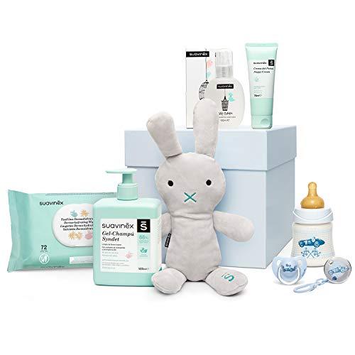 Suavinex - Canastilla de regalo baby shower para recién