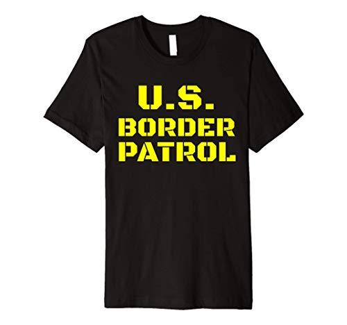 Halloween Border Patrol Immigration Enforcement Costumes Premium T-Shirt