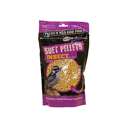 Unipet Suet To Go Bird Food Pellets 550g (Flavour: Insect)