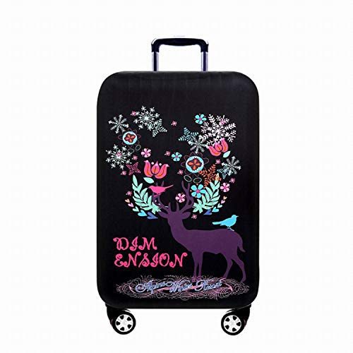 SFJRY Elastic Dustproof Travel Luggage Suitcase Protective Cover Trolley Luggage Baggage Protector Case for 18'-32' Inch Luggage,05,XL (29~32 inches)
