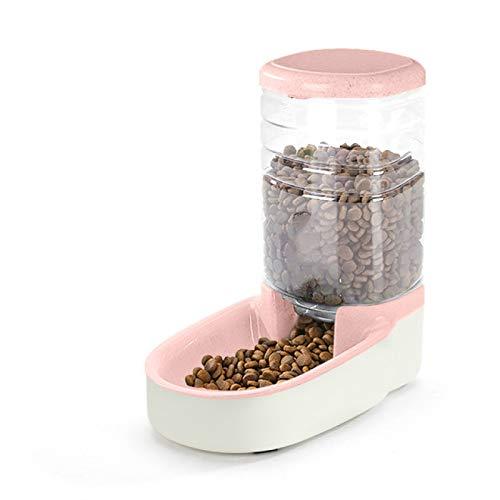RONGXIANMA Bebedero para Mascotas 3.8L Alimentador automático para Perros y Gatos Placa de Comida para Gatos Botella para Beber Contenedor de alimentación Lenta Suministros