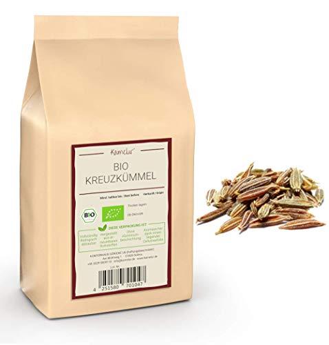 250g BIO Kreuzkümmel (Cumin) ganz - aromatische Kreuzkümmel Samen in bester Bio-Qualität, ohne Zusätze - das perfekte Gewürz für Falafel - verpackt in umweltfreundlicher Verpackung