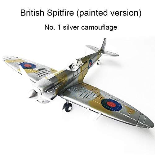 HOPQ 4D Spitfire Intercept Fighter Verniciato Versione 1:48 Militare Modello Assemblato Aircraft Toys 3