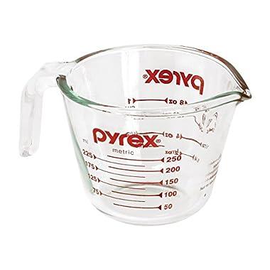 Pyrex Prepware 1-Cup Glass Measuring Cup