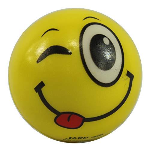 Dazzling Deals 1 Assorted Emoji Face Foam Bouncy Ball