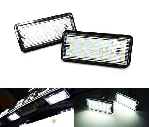 2 x LED licence lampe de plaque d'immatriculation Blanc Canbus pour Land Cruiser Amazon 100 200 Série 120 Prado LX470 LX570 GX470