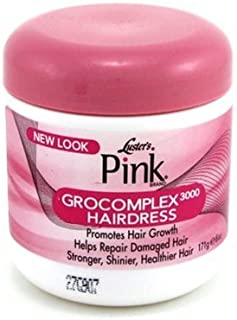 Lusters Pink Creme Hairdress Grocomplex 3000 6 Ounce (177ml) (3 Pack)