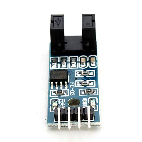 Speed Measuring Sensor Switch Counter Motor Test Groove Coupler Module Geekcreit for A-r-d-u-i-n-o - products that work with official A-r-d-u-i-n-o boards 10Pcs Electronics Module Parts