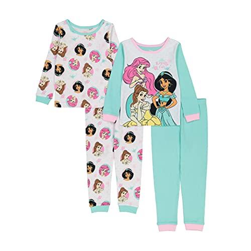 Disney Girls Snug Fit Cotton Paj...