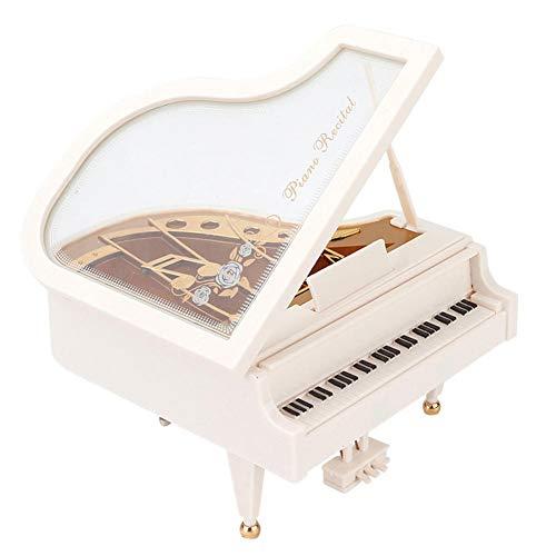 NFRADFM music Box,Piano Shape music Box,music Box Home Decoration Accessories,Plastic music Box Desktop ornaments