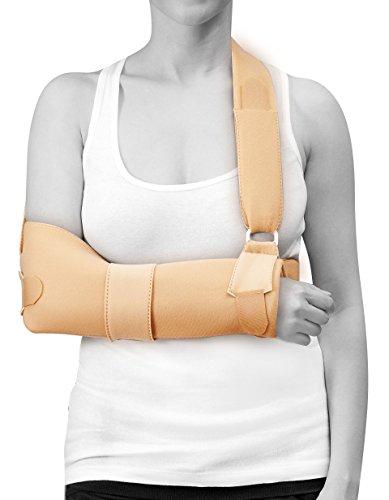 Medicare System SOF0101 Zachte goederen Sling Schouder Immobilisatie, Medium, Beige