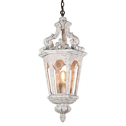 Pendelleuchten Baby Kronleuchter für Kinderzimmer Holzküche Leuchte Italienisch Murano Weiß Kronleuchter 1 Licht für Prinzessin Esszimmer-1 Licht
