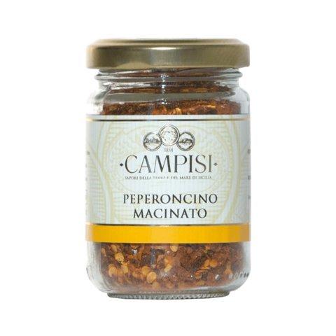 Peperoncino Macinato - getrocknete Chili Flocken aus Sizilien 50gr