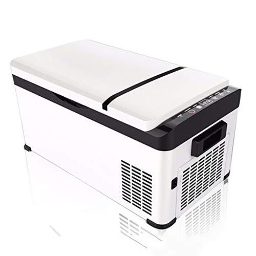 Kompressor Energiesparende Auto Kühlschrank Kühlung 12V-24V Mini Gefrierschrank Kleinwagen Startseite Dual-Use-Kühlschrank Gefrierschrank, Auto