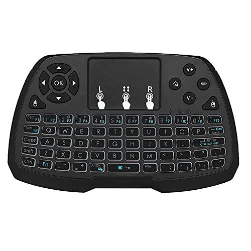 skrskr Control Remoto inalámbrico del ratón del Control Remoto 2.4GHz del ratón para el Cuaderno de la PC TV Smart TV de Android TV Box