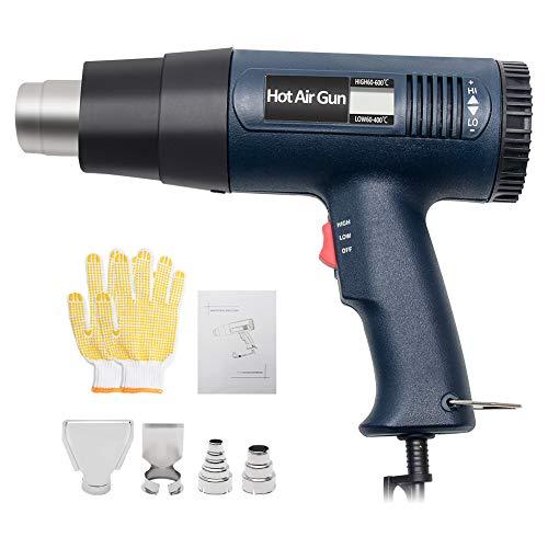 2000W Heat Gun Kit, Digital LCD Display