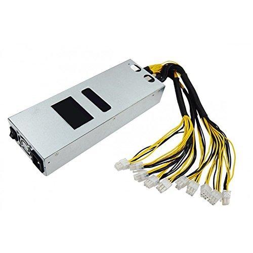 Antminer S9 S7 D3 L3+ / Netzteil PSU 1600W / 10x 6PIN PCIe