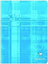 CLAIREFONTAINE 32 pages LOT DE 5 Cahiers Piqu/és S/éy/ès 17x22cm Carreaux : 3mm 12//12 plusieurs coloris possibles