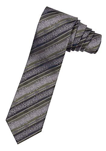 Moschen-Bayern Herren Krawatte Trachtenkrawatte Seide Grün Braun