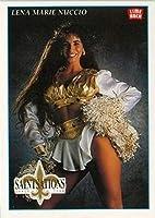 1992 Lime Rock Pro Cheerleaders Football #69 Lena Marie Nuccio New Orleans Saints
